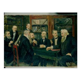 Carte Postale La convention de Hambourg des professeurs, 1906