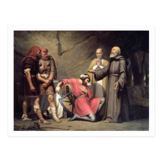 Carte Postale La conversion de Robert, duc de la Normandie,