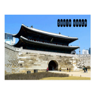 Carte Postale La Corée du Sud