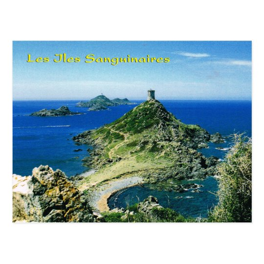 Carte Corse Ile Sanguinaire.Carte Postale La Corse Vintage Les Iles Sanguinaires
