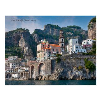 Carte Postale La côte d'Amalfi