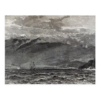 Carte Postale La crête de Tenerife, Sante Cruz