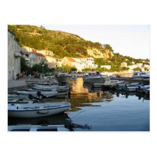 Carte Postale La Croatie