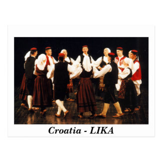 Carte Postale La Croatie - LIKA