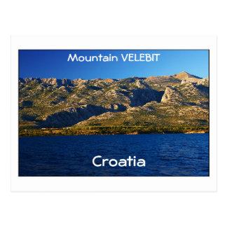 Carte Postale La Croatie - montagne Velebit