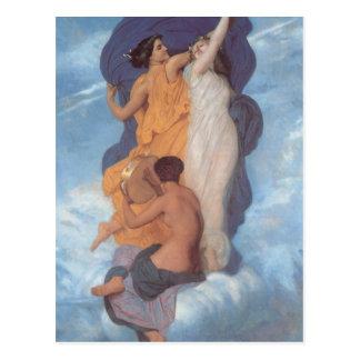 Carte Postale La danse par William-Adolphe Bouguereau