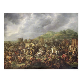 Carte Postale La défaite de Porus par Alexandre le grand
