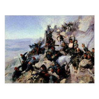 Carte Postale La défense de l'aire d'Eagle