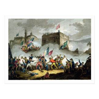 Carte Postale La défense de l'infraction au d'Acre de St Jean,