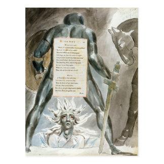 """Carte Postale """"La descente d'Odin"""", conçoivent 81 """"des poèmes o"""