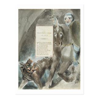 Carte Postale La descente d'Odin, une ode, 'des poèmes du Th