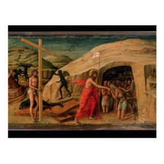 Carte Postale La descente du Christ dans le vide