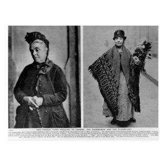 Carte Postale La femme de ménage et la demoiselle de honneur