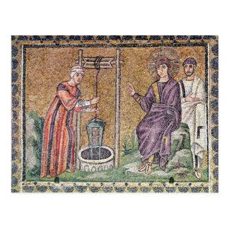 Carte Postale La femme de Samaria au puits