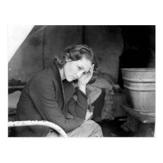 Carte Postale La fille du mineur - 1936