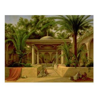 Carte Postale La fontaine de Khabanija, le Caire, 1845
