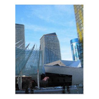 Carte Postale La fontaine et l'architecture de l'aria à Las