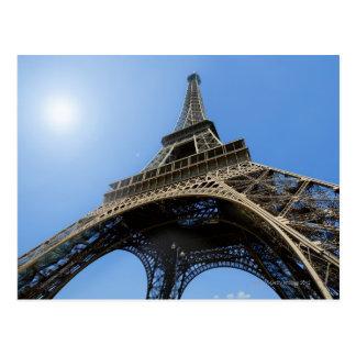 CARTE POSTALE LA FRANCE, PARIS, VISITE EIFFEL