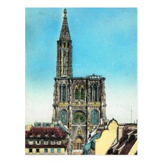 Carte Postale La France vintage, Strassbourg, Cathedral, 1930