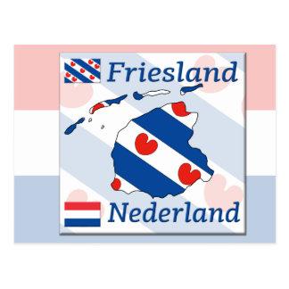 Carte Postale La Frise Nederland