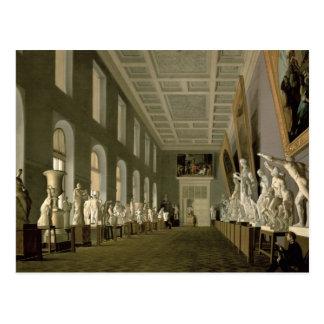 Carte Postale La galerie d'antiquités de l'académie de l'amende