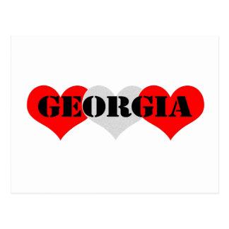 Carte Postale La Géorgie