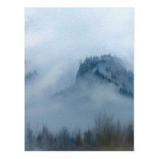 Carte Postale La gorge de Colombie dans le brouillard
