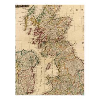Carte Postale La Grande-Bretagne, Irlande