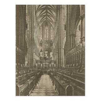 Carte Postale La Grande-Bretagne vintage, Londres, Abbaye de