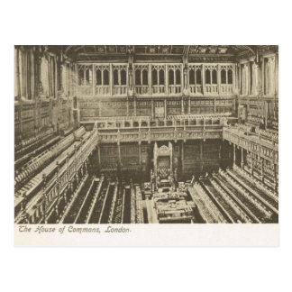 Carte Postale La Grande-Bretagne vintage, Londres, Chambre des