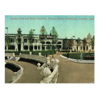 Carte Postale La Grande-Bretagne vintage, Londres, exposition