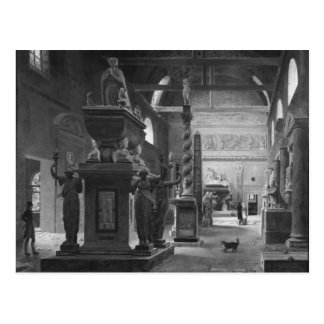 Carte Postale La grande salle des monuments de DES de Musee