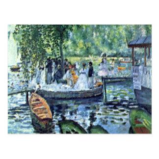 Carte Postale La Grenouillere1 par Pierre Renoir