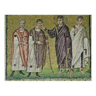 Carte Postale La guérison de deux Blindmen de Jéricho