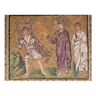 Carte Postale La guérison du paralytique de Capernaumx