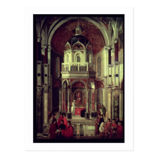 Carte Postale La guérison miraculeuse du de Ludovici, 150 de