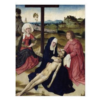 Carte Postale La lamentation, c.1455-60