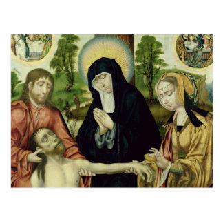 Carte Postale La lamentation du Christ mort, c.1520