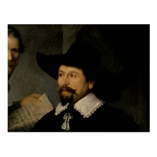 Carte Postale La leçon d'anatomie de Dr. Nicolaes Tulp, 1632 2