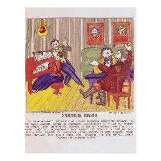 Carte Postale La leçon de chant