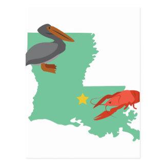 Carte Postale La Louisiane