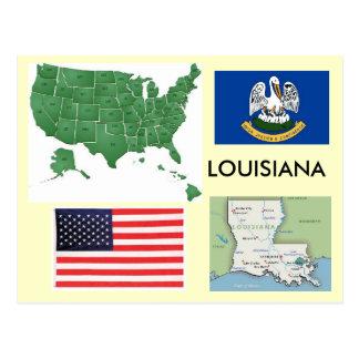 Carte Postale La Louisiane, Etats-Unis