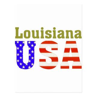 Carte Postale La Louisiane Etats-Unis !
