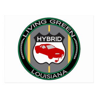 Carte Postale La Louisiane hybride