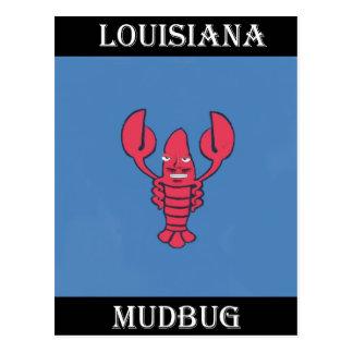 Carte Postale La Louisiane Mudbug 1.jpg