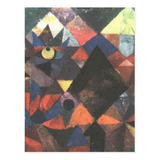 Carte Postale La lumière et tellement d'autre par Paul Klee