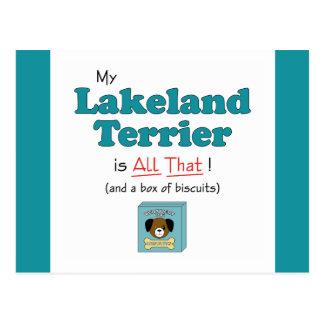 Carte Postale La ma région des lacs Terrier est toute cela !