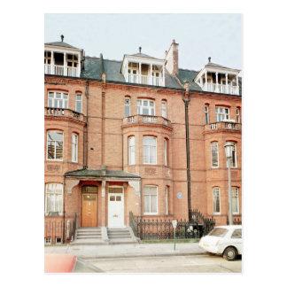 Carte Postale La maison d'Oscar Wilde dans la rue de Tite,