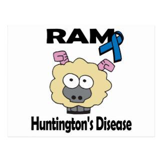 Carte Postale La maladie de RAM Huntingtons
