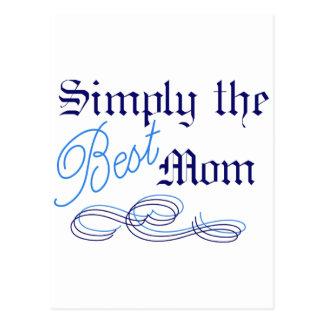Carte Postale La meilleure maman